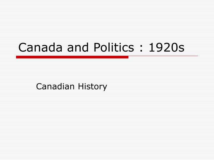 canadian history 1920s Inventions (in the 1920s) radios the first radios ran on battery, and played through headphones first canadian broadcast originated from montreal, an comedic station with music and effects.
