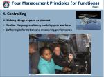 four management principles or functions cont2