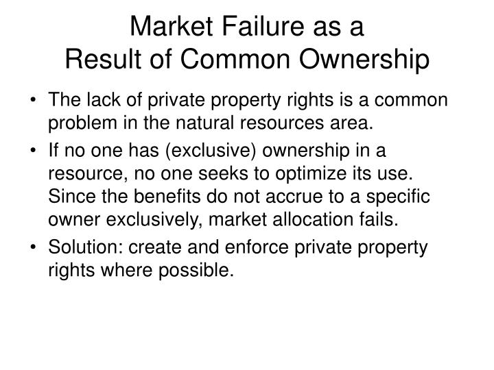 market failure essay final market failure and how government can attempt to correct it market failure is a situation in which the free market fails to allocate resources effectively, causing a situation where the quantity demanded by the consumer is unequal to the quantity supplied by the supplier.