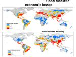 flood disaster economic losses