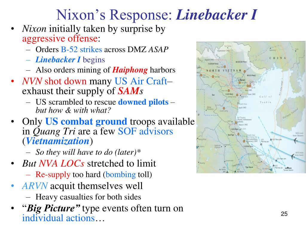 Nixon's Response: