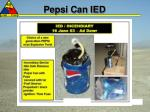 pepsi can ied