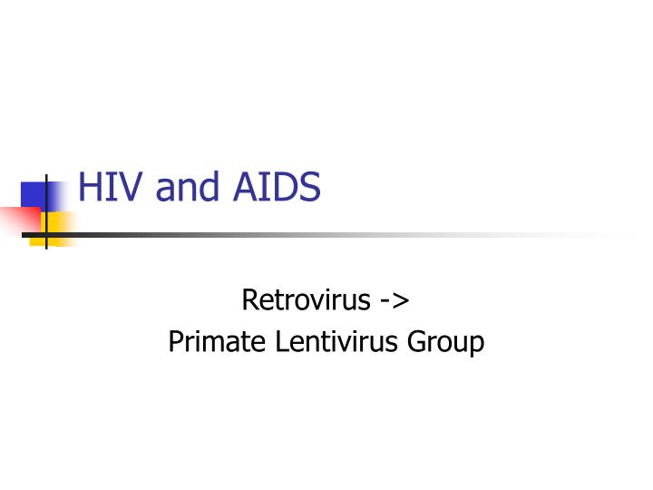 hiv and aids n.