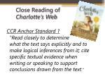 close reading of charlotte s web1