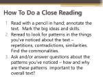 how to do a close reading1