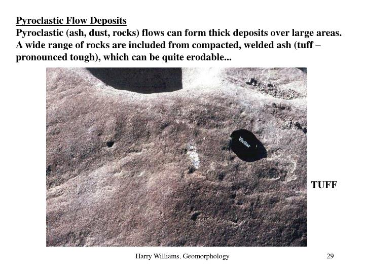 Pyroclastic Flow Deposits