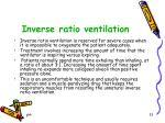 inverse ratio ventilation