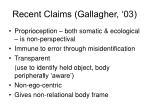 recent claims gallagher 03