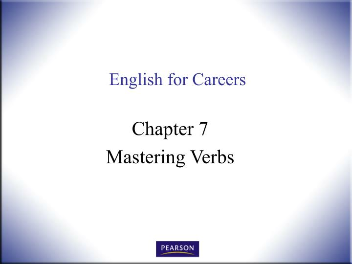 english for careers n.