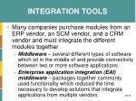 integration tools