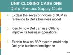 unit closing case one dell s famous supply chain1