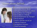 sexual abuse defined