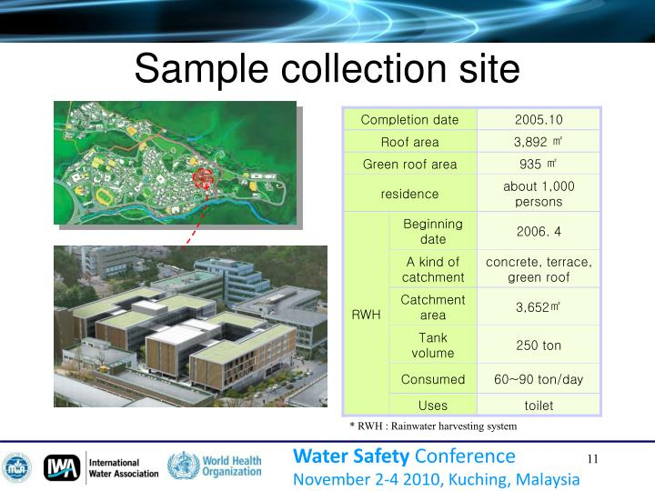 Sample collection site