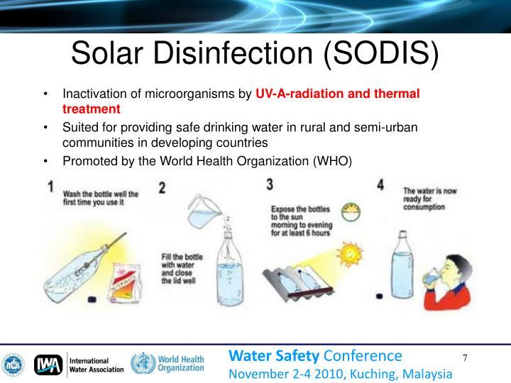 Solar Disinfection (SODIS)