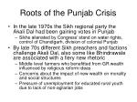 roots of the punjab crisis
