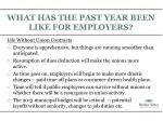 what has the past year been like for employers3