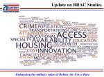 update on brac studies1