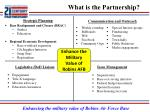 what is the partnership