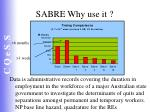 sabre why use it