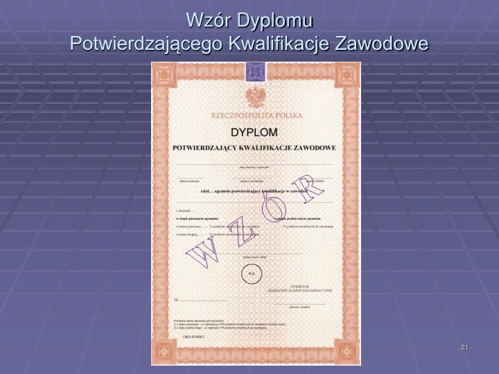 Wzór Dyplomu