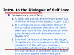 intro to the dialogue of self love1