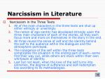 narcissism in literature7