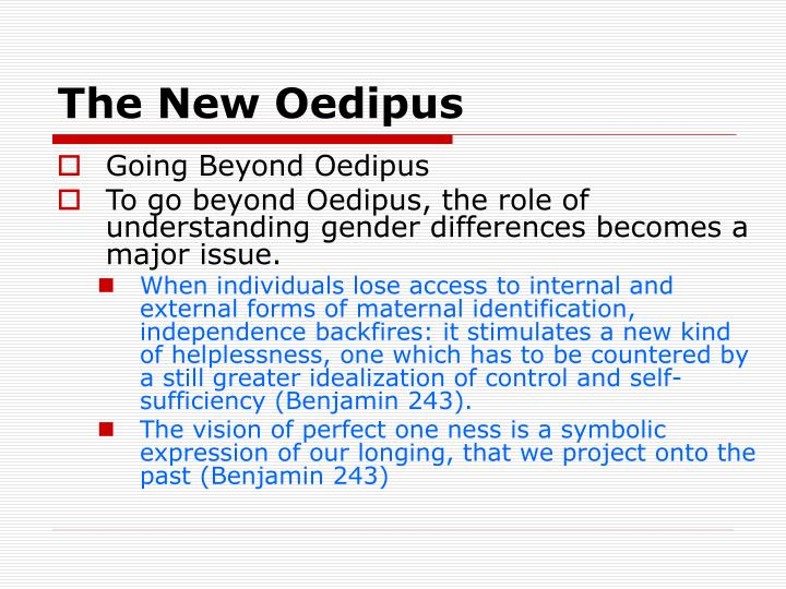 The New Oedipus