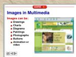 images in multimedia