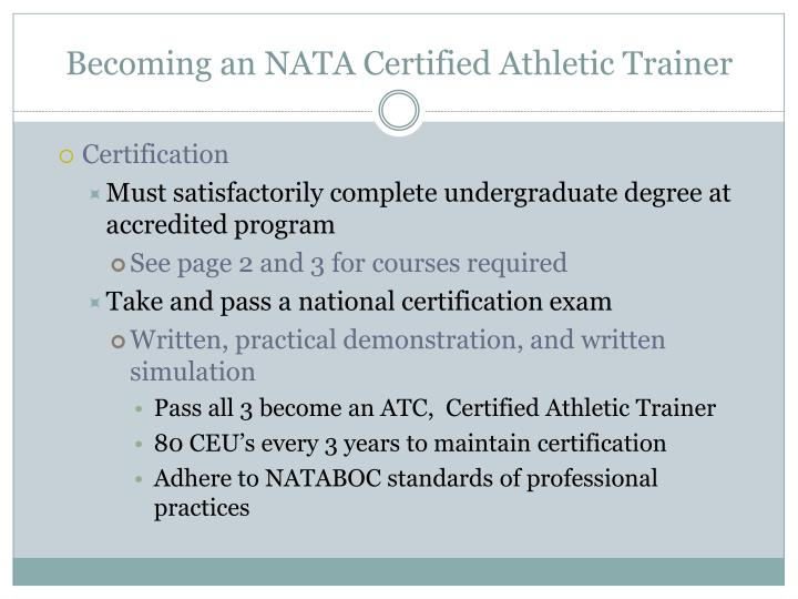 Ppt Introduction To Athletic Training Powerpoint Presentation Id