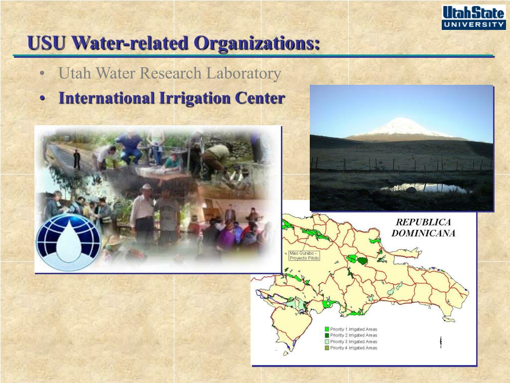 USU Water-related Organizations: