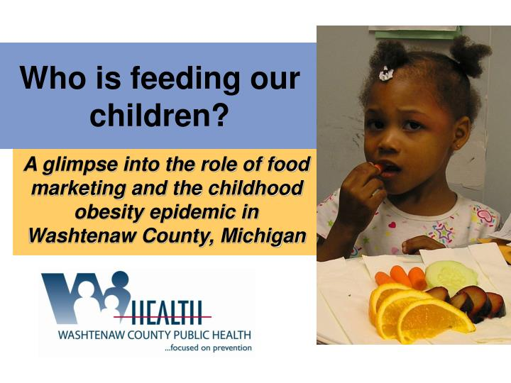 who is feeding our children n.