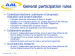 general participation rules