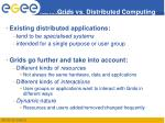 grids vs distributed computing