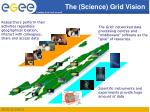 the science grid vision