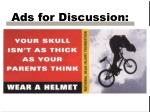 ads for discussion12