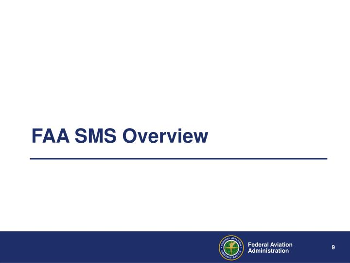 FAA SMS Overview