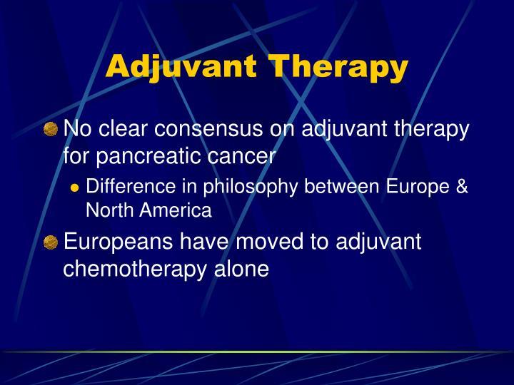 Adjuvant therapy
