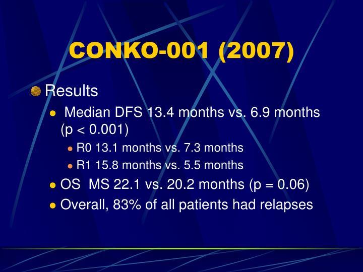 CONKO-001 (2007)