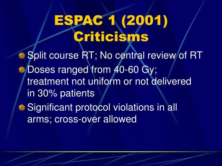 ESPAC 1 (2001)