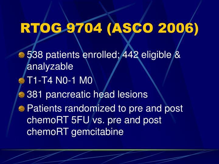 RTOG 9704 (ASCO 2006)