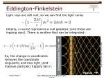eddington finkelstein1
