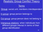 realistic group conflict theory