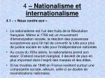 4 nationalisme et internationalisme