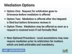 mediation options