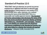 standard of practice 12 5