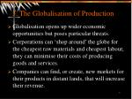 3 the globalisation of production