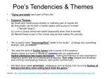 poe s tendencies themes