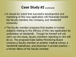 case study 2 continued