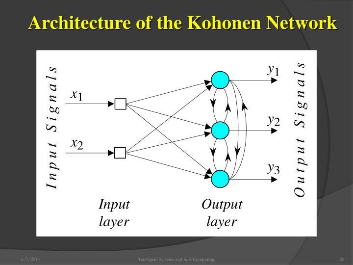 Architecture of the Kohonen Network