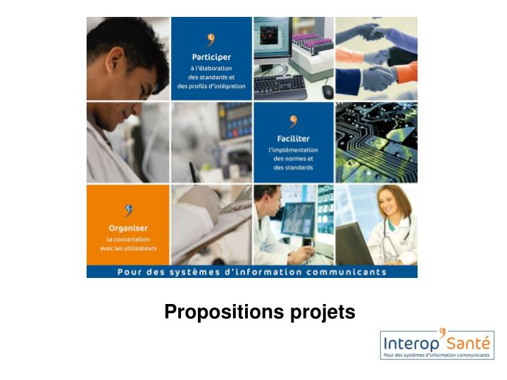 propositions projets n.